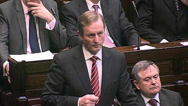 Enda Kenny said it would be in Ireland's interest if it was approved
