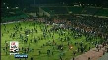 Nine News: 73 people killed, 1000 injured at Egyptian football match