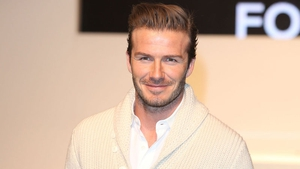 David Beckham: could be swapping football for film and food