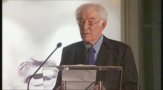 Seamus Heaney speaking on the occasion of his 70th birthday.