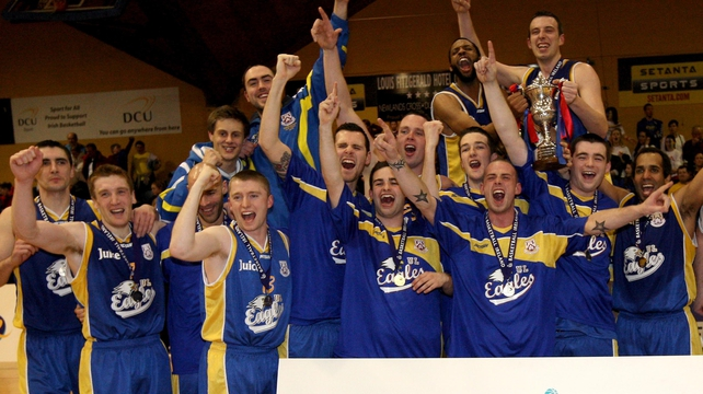 UL Eagles celebrated Cup success a fortnight ago