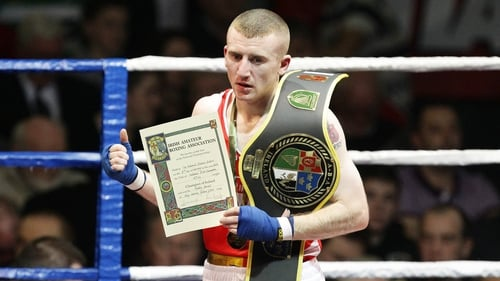 Paddy Barnes is out with a wrist injury