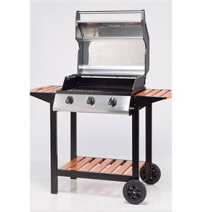4-Burner Gas BBQ with Side Tables €328