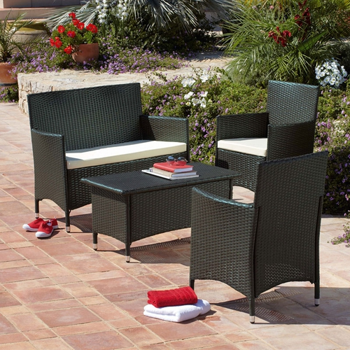Verona 4 Piece Sofa Set Garden Furniture €529