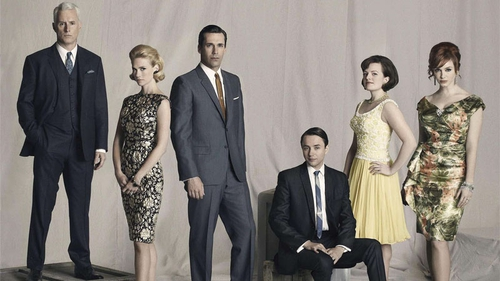 Mad Men: back for more Madison Avenue antics in the show's sixth season