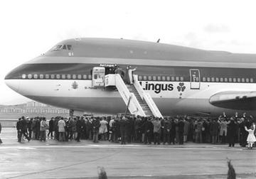 Pope John Paul II in Shannon Airport