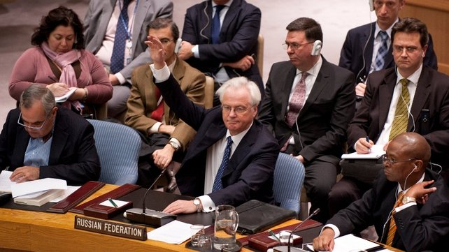Russia and China blocked the UNSC resolution on Suria