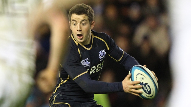 Greig Laidlaw scored 11 of Scotland's total