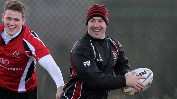 Paddy Wallace has been named in the Ulster side to face Dragons