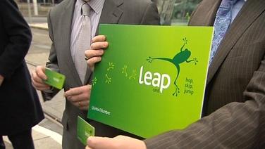 An tÚdarás Náisiúnta Iompair cáinte faoin gcárta 'Leap'