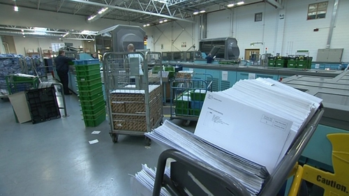 ComReg has set a number of targets for the delivery of mail for An Post