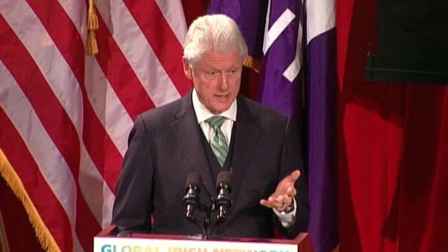 Former US President Bill Clinton organised the event