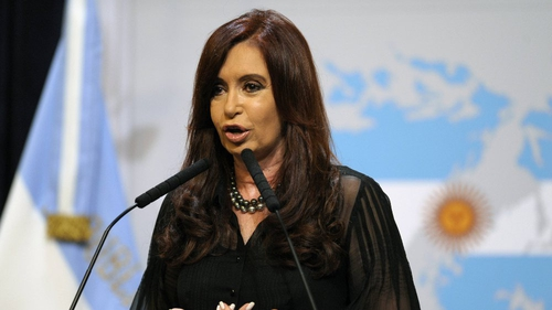 Cristina Fernandez is due to undergo brain surgery tomorrow in Buenos Aires