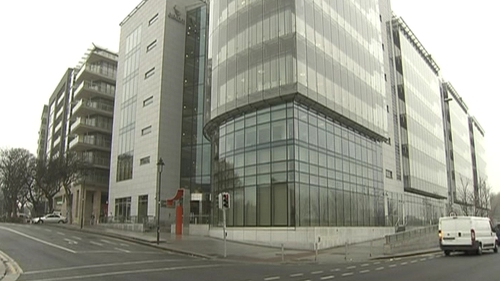 Two of the laptops were taken from the Eircom's offices in Dublin
