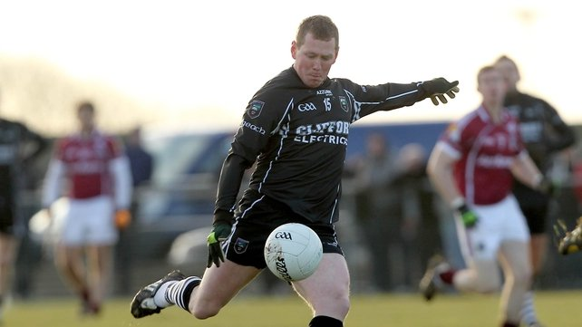 Sligo captain Adrian Marren notched up three points from frees for the home side
