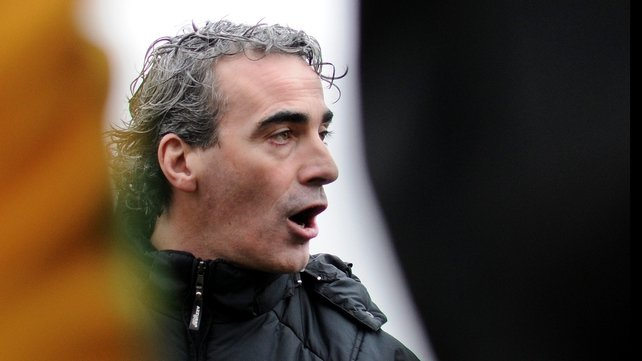 Jim McGuinness was interviewed yards from former Donegal panel member Kevin Cassidy