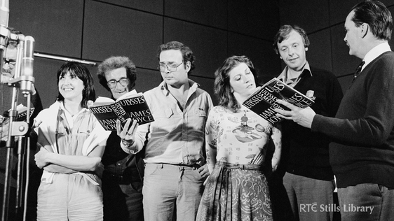 The RTÉ Players reading James Joyce's novel 'Ulysses' 2098/093