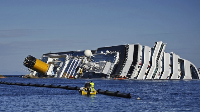 32 people died when the Costa Concordia sank in January
