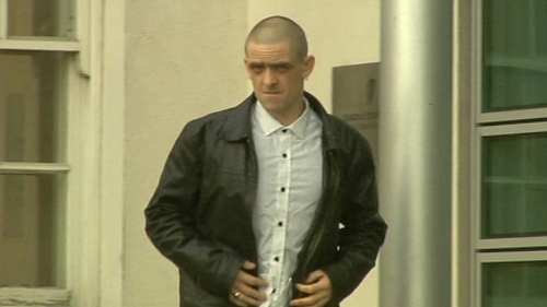 Daniel McCormack received a suspended prison sentence for burglary