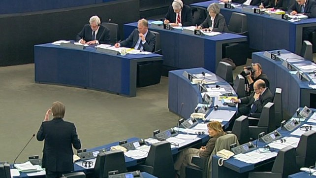 EU Parliament discusses Syrian plans