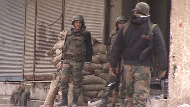 Syrian forces have been attacking Homs for 13 days