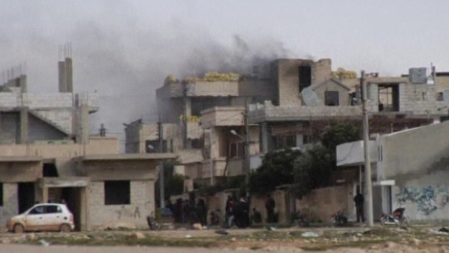 Harasta has also been targeted by security forces
