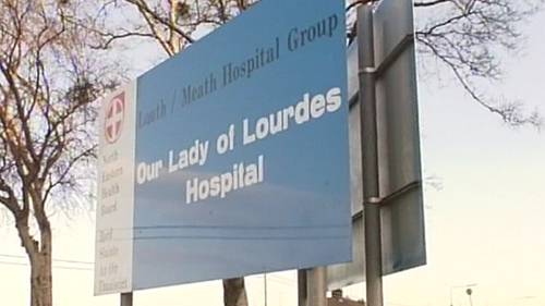 Two people taken to Our Lady of Lourdes Hospital in Drogheda following yesterday's crash in Dundalk