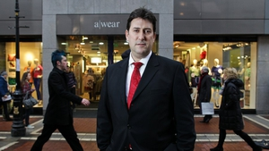 A-wear owner Michael Flacks - over 300 jobs under threat at fashion chain