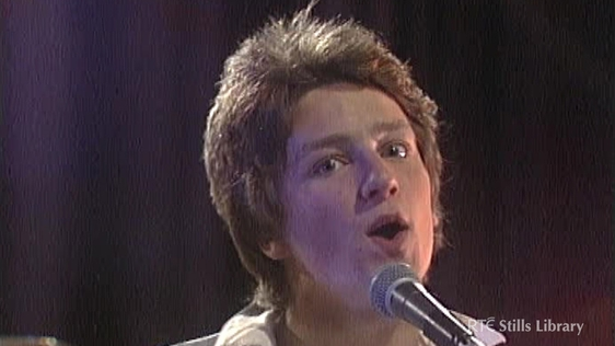 Bono on 'Youngline' (1978) © RTÉ Stills Library 3036/049
