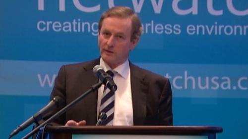 Enda Kenny has vowed to restore Ireland's reputation