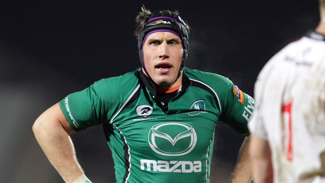 Eoghan Grace will start at openside flanker for Connacht