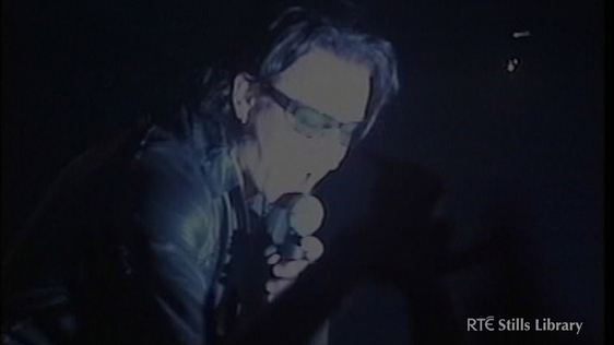 U2 play the Astoria, London (2001)  © RTÉ Stills Library 3036/034