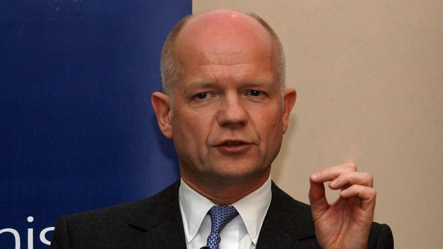 William Hague believes Iran's nuclear ambitions could lead to nuclear proliferation in the Middle East
