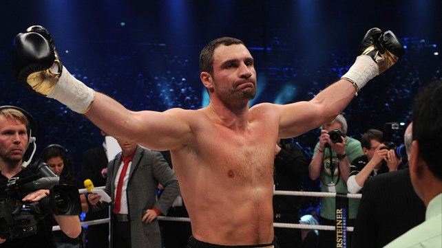 Vitali Klitschko proved his class in and out of the ring