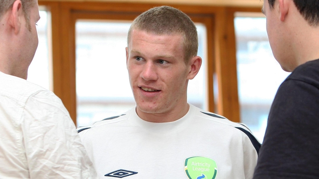 James McClean found out he had made the Republic of Ireland squad through watching TV news