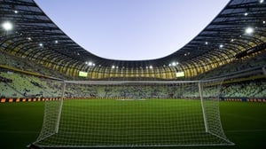The Europa League final was set to be played in the northern Polish city of Gdansk