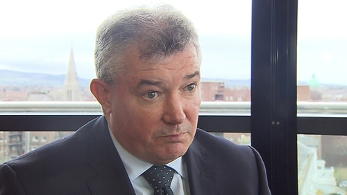 Bank of Ireland said the pay arrangement had been agreed with Brian Lenihan