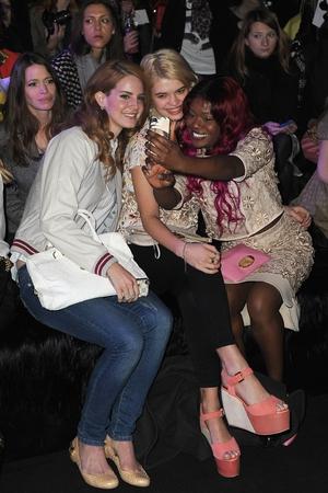Lana Del Rey, Pixie Geldof, Azealia Banks