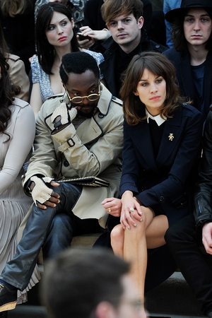 Sophie Ellis-Bextor, Will.i.am and Alexa Chung