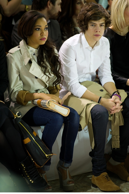 Dionne Bromfield and Harry Styles