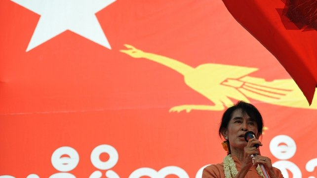 Aung San Suu Kyi plans to spend four or five days in Thailand