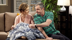 Jackie Woodburn and Alan Fletcher as Susan and Karl