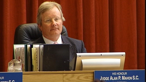 The tribunal was conducted by Judge Alan Mahon