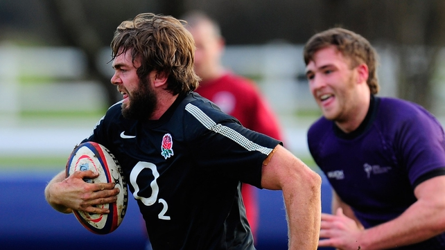 Geoff Parling ruled out of England's clash with Australia