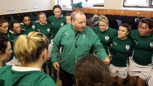 Philip Doyle has been involved with the Ireland women's set up for 16 years