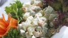 Russian Winter Salad - Wave goodbye to the winter blues with this tasty salad