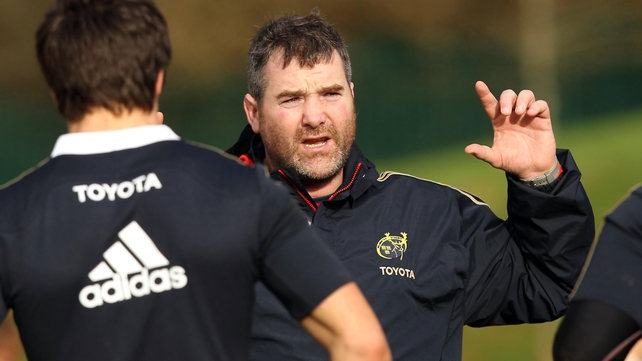 Anthony Foley is honoured to be linked with the Munster head coach post
