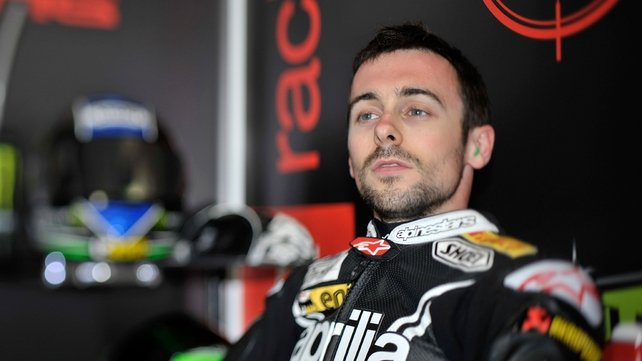 Eugene Laverty will start from fourth on Sunday