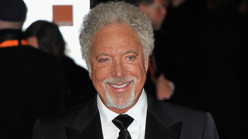 Sir Tom Jones is 'afraid' to lose his temper