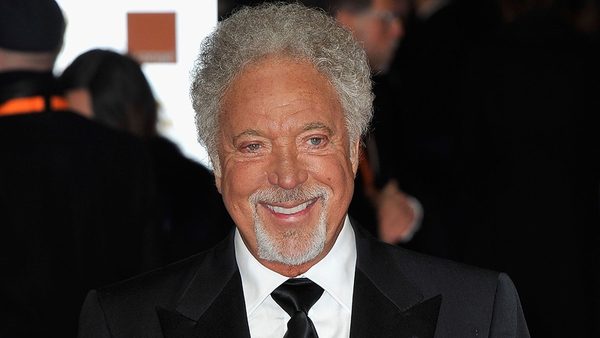 Tom Jones was left red-faced on The Voice UK